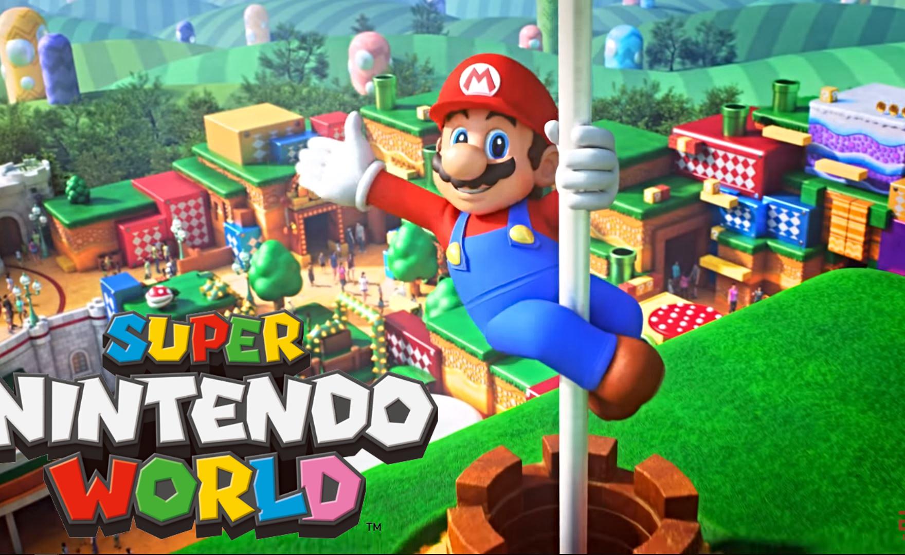 Super Nintendo World: il parco divertimenti si mostra in un video musicale