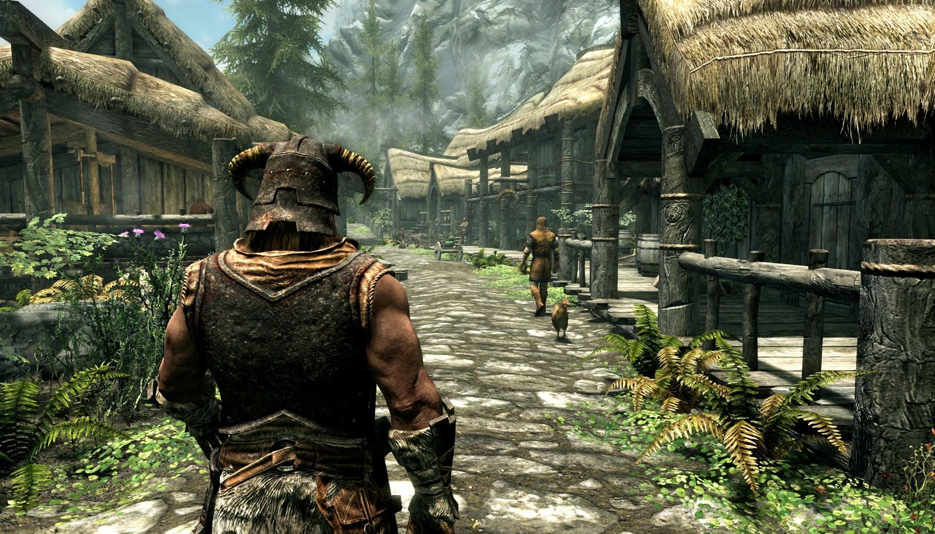 The Elder Scrolls V Skyrim, una mod sostituisce le texture originali con versioni HD