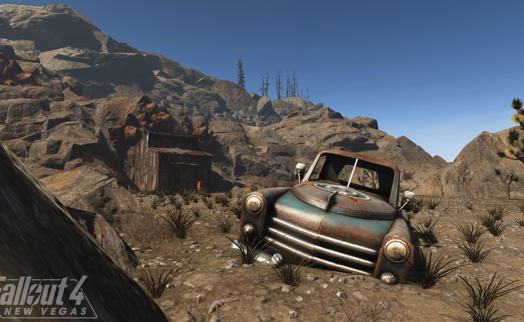 Fallout 4: nuove immagini della mod che ricrea New Vegas
