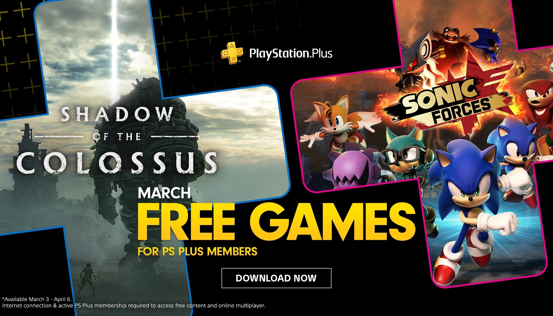 PS Plus: giochi gratis PS4 di Marzo 2020 svelati