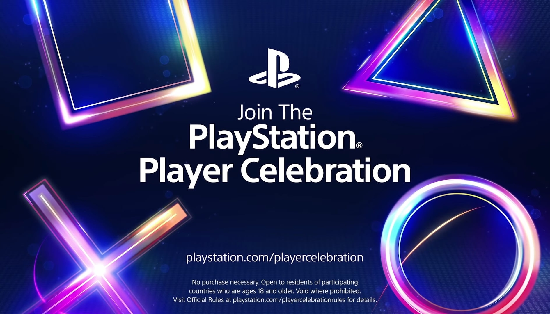 Sony: presentato PlayStation Player Celebration, un concorso ricco di premi esclusivi