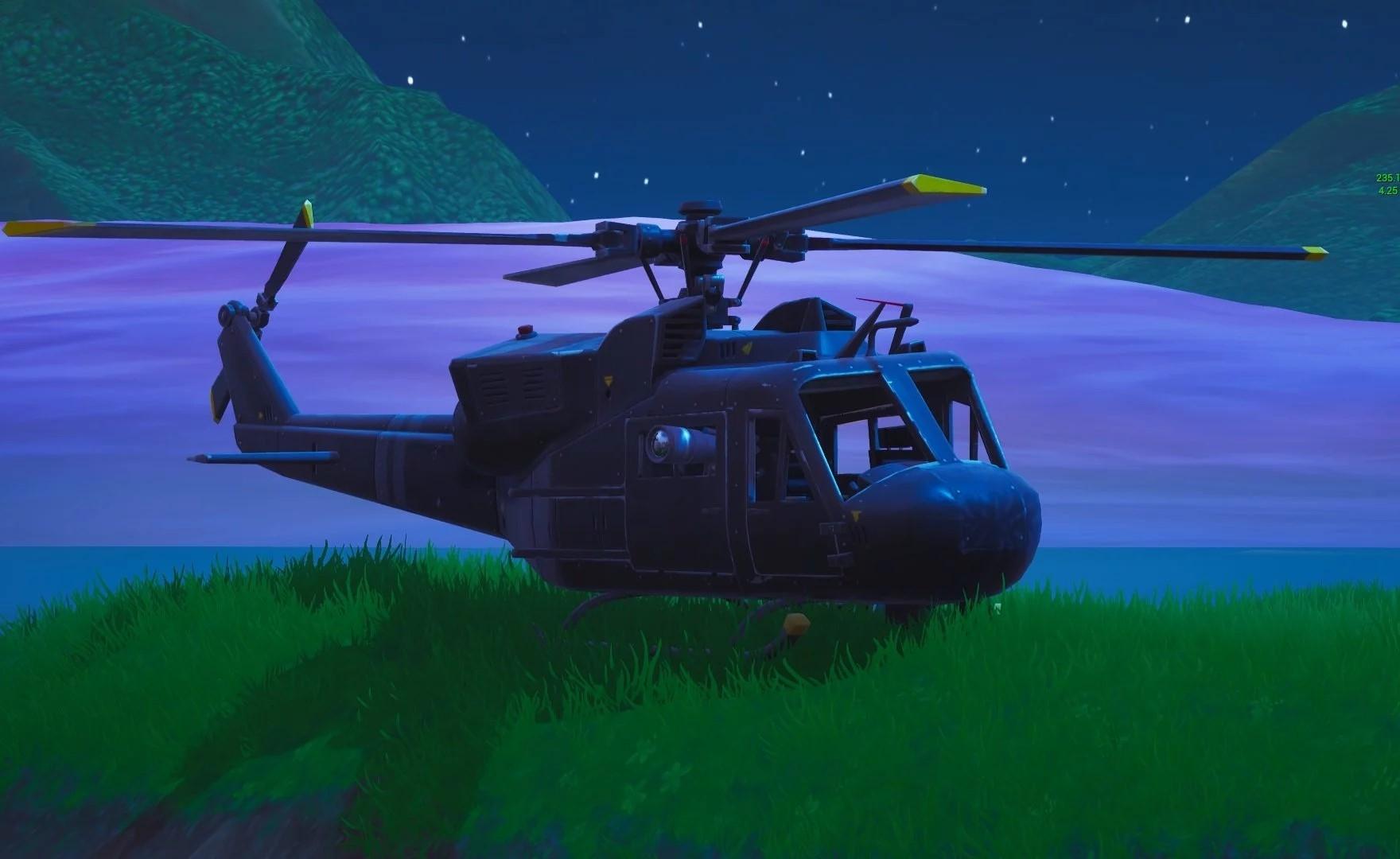 Fortnite: scovato un bug che permette di attivare il pilota automatico degli elicotteri