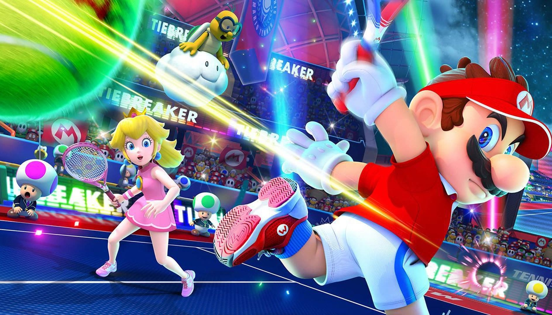 Mario Tennis Aces, disponibile l'update di marzo