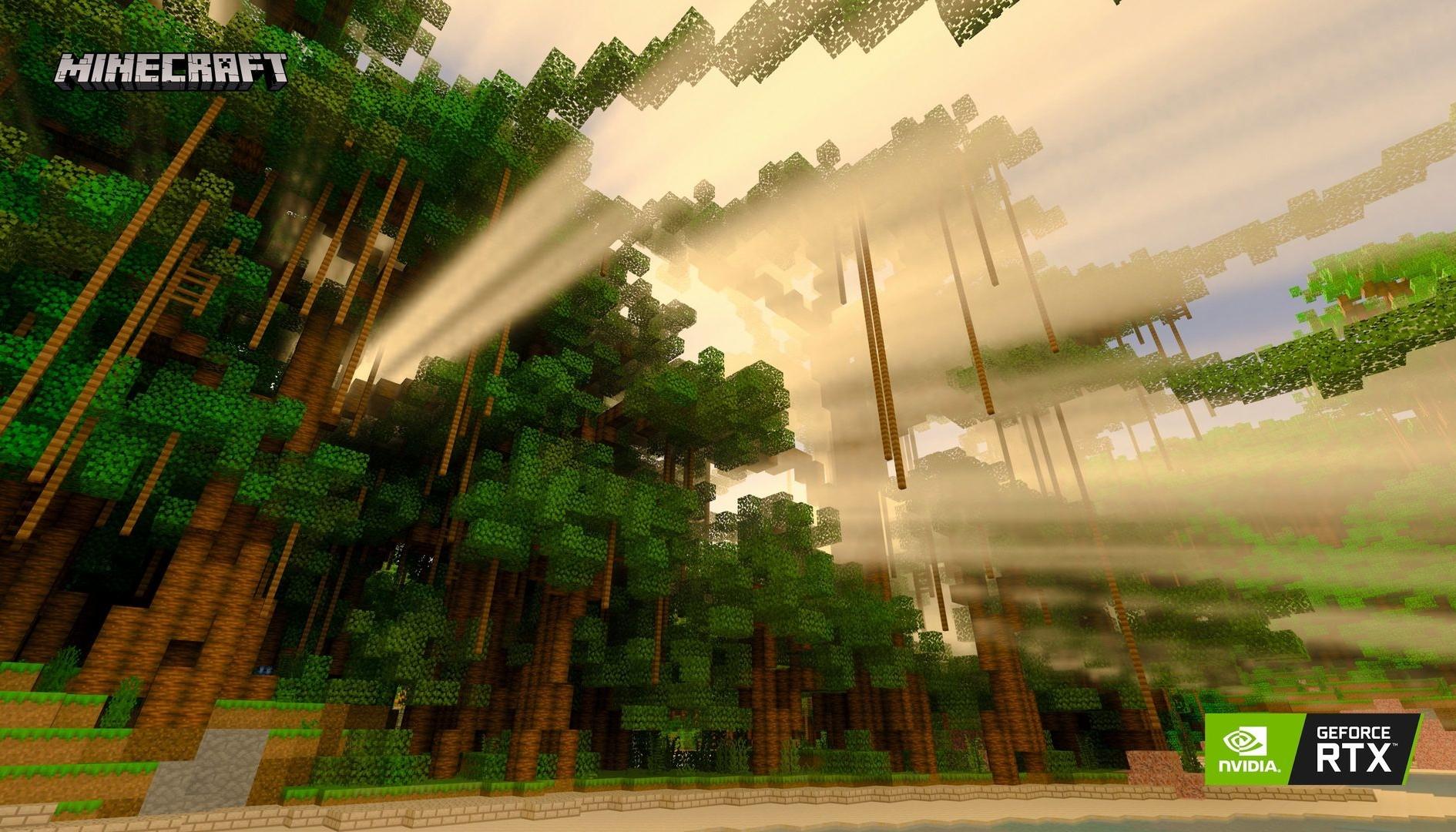 Minecraft RTX: ecco l'incredibile mondo di test di Digital Foundry