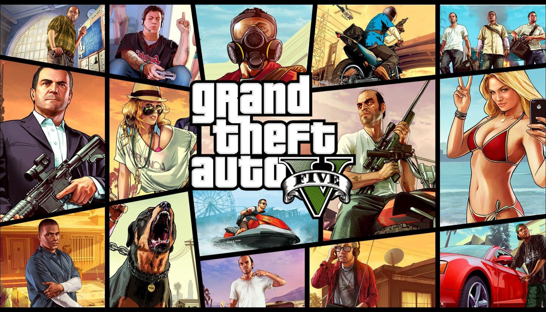 GTA 5 è un successo anche su Epic Games Store, record di utenti connessi