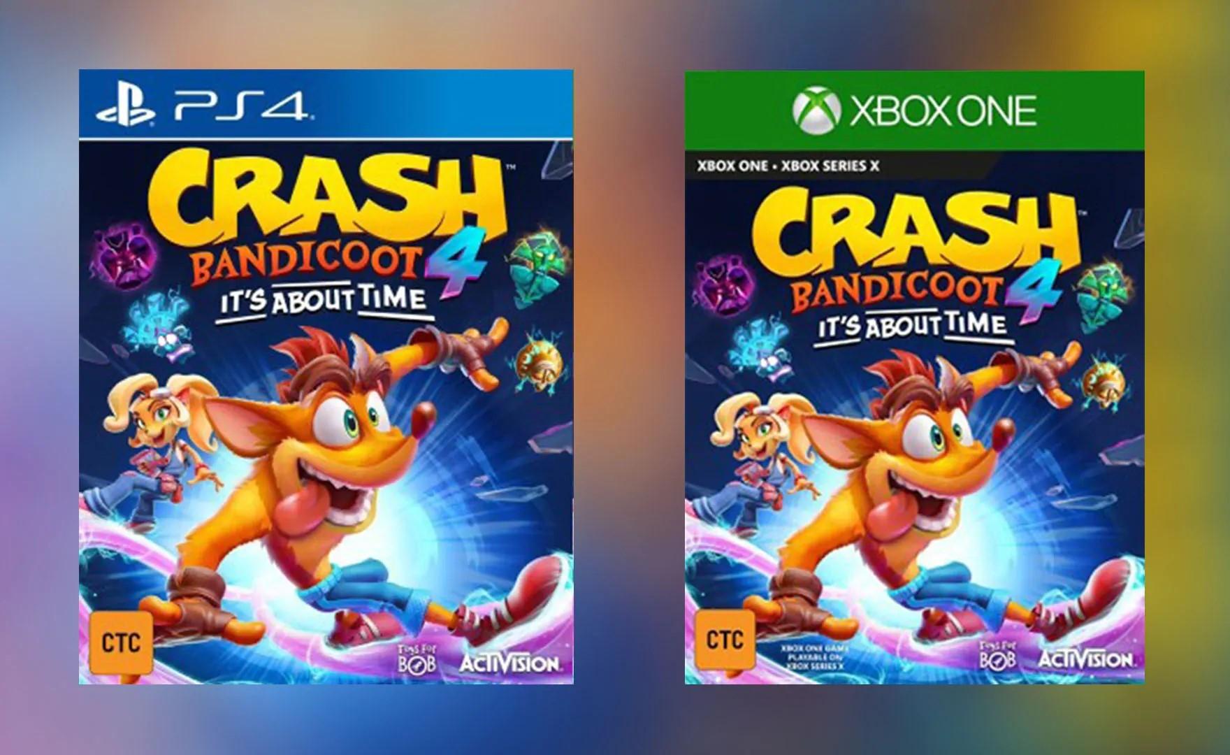Crash Bandicoot 4 svelato da un leak: prima immagine trovata