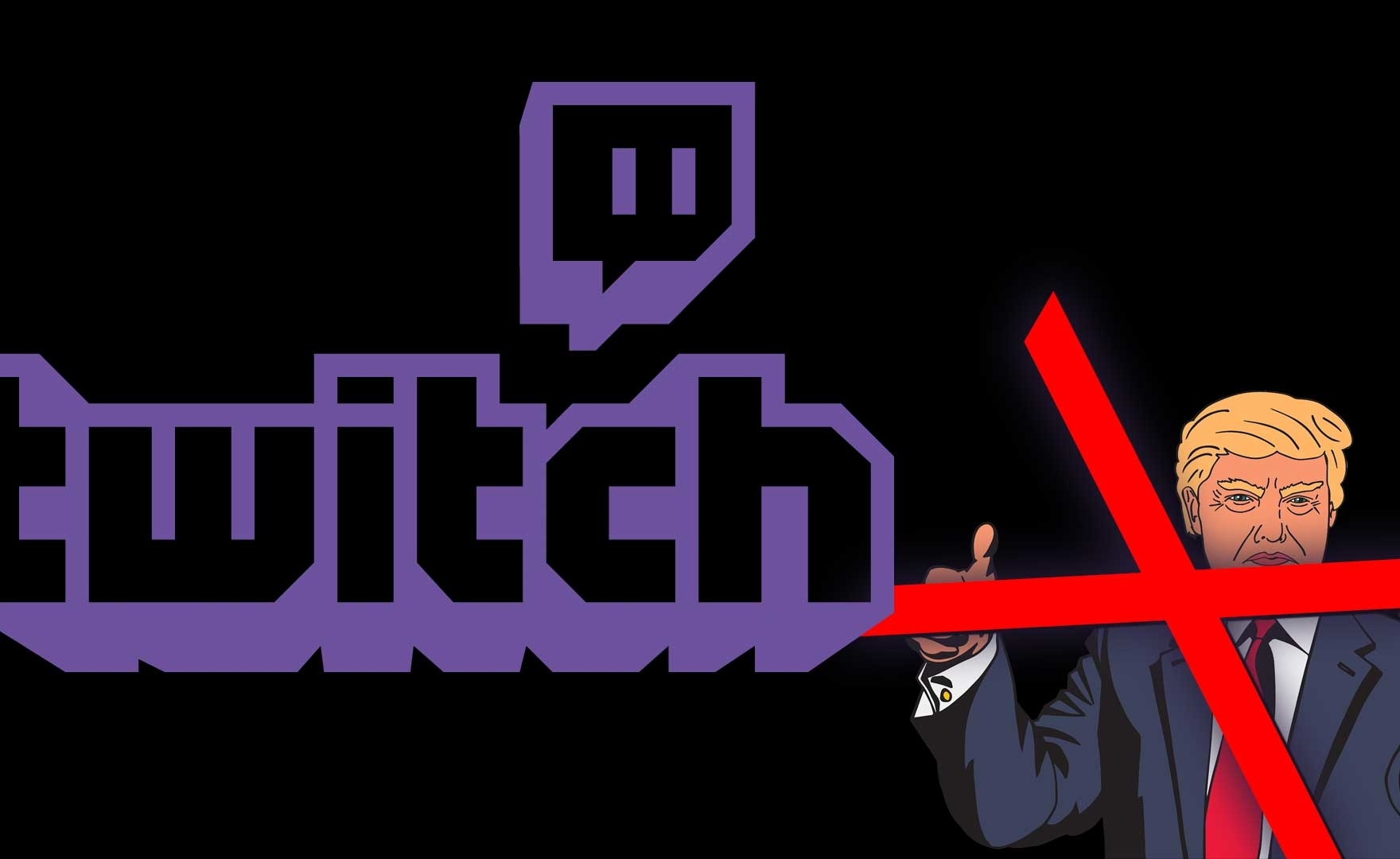 Twitch, Donald Trump bannato per incitamento all'odio