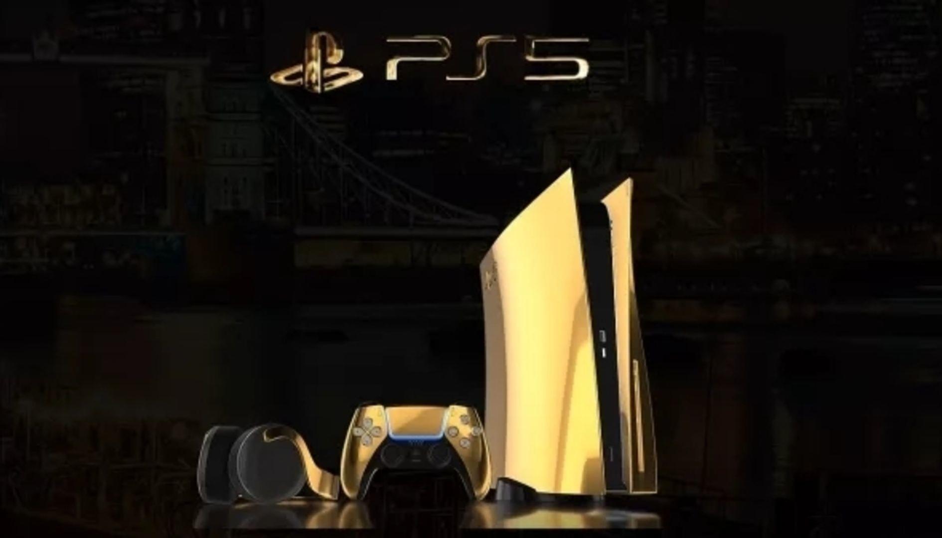 PS5 in oro 24 carati, annunciata la versione super esclusiva
