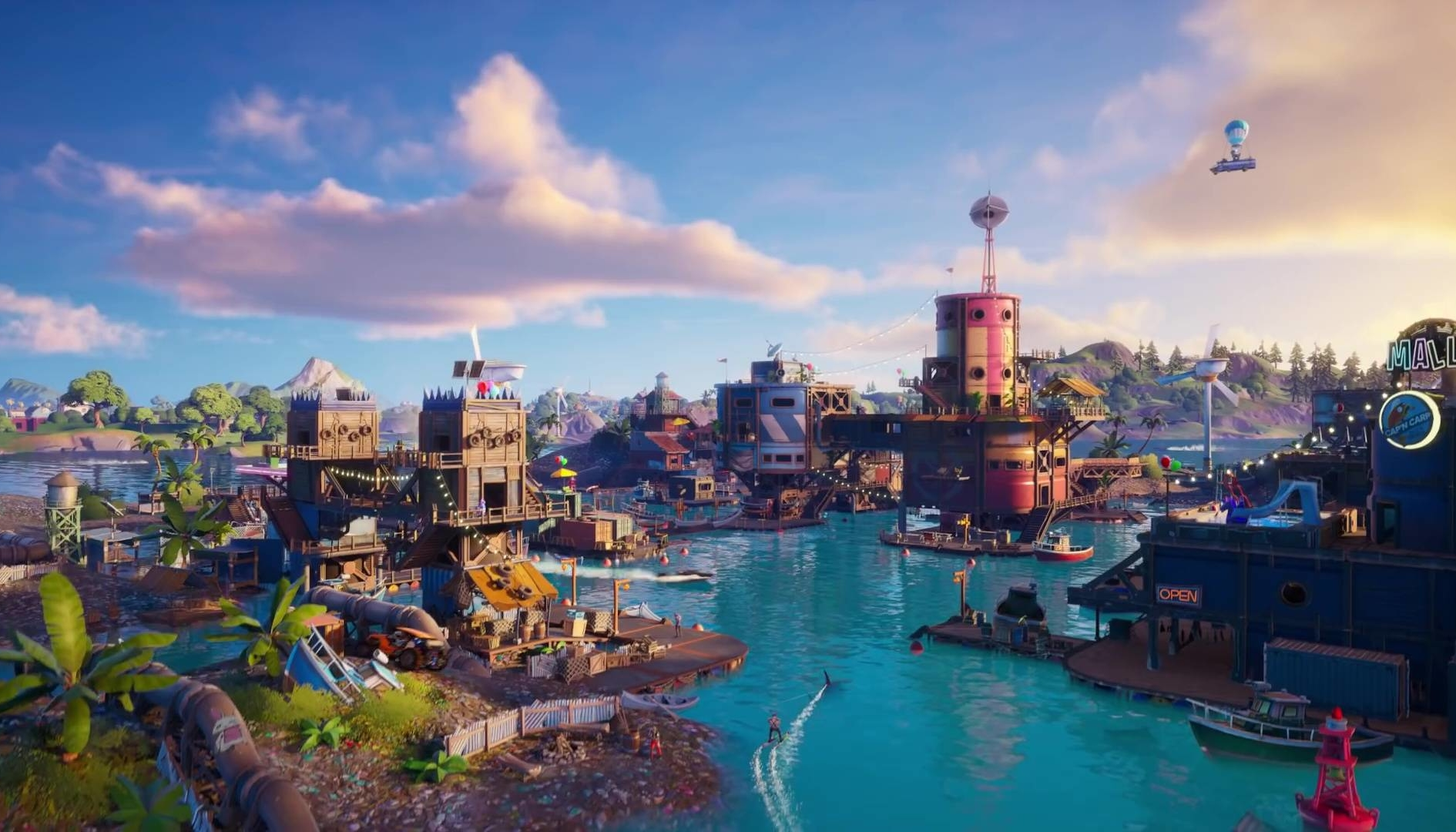Fortnite: Atlantide sta per emergere dall'acqua?