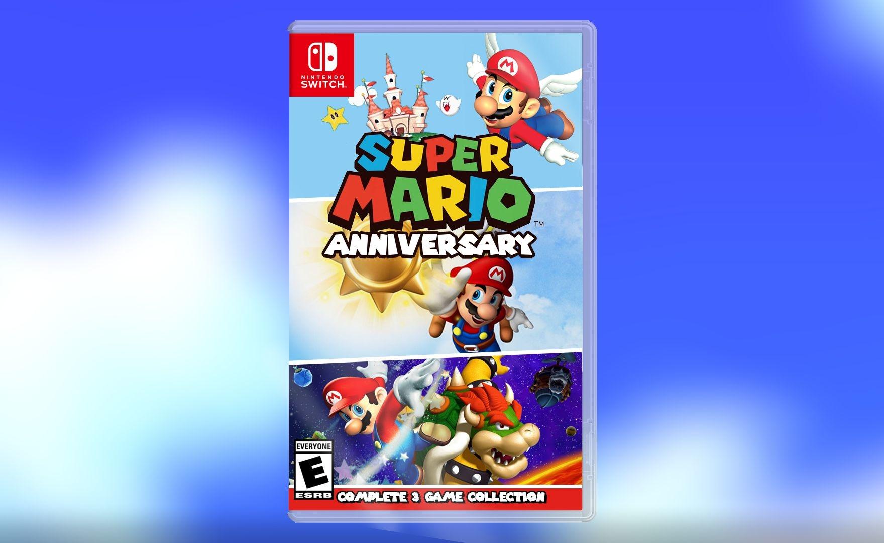 Mario 35th Anniversary Collection, Super Mario non si ferma mai