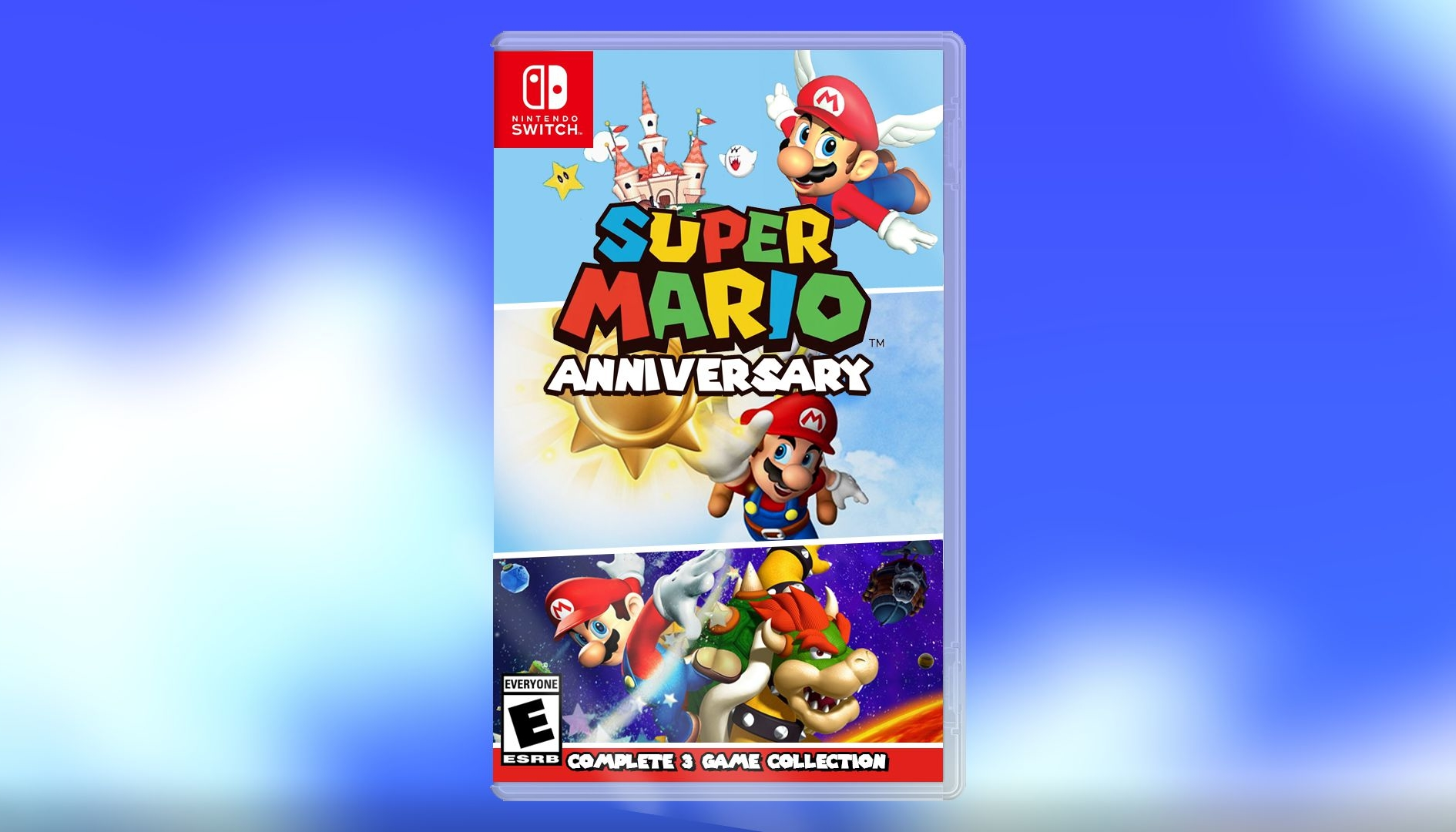 Mario 35th Anniversary Collection, Super Mario non si ferma mai