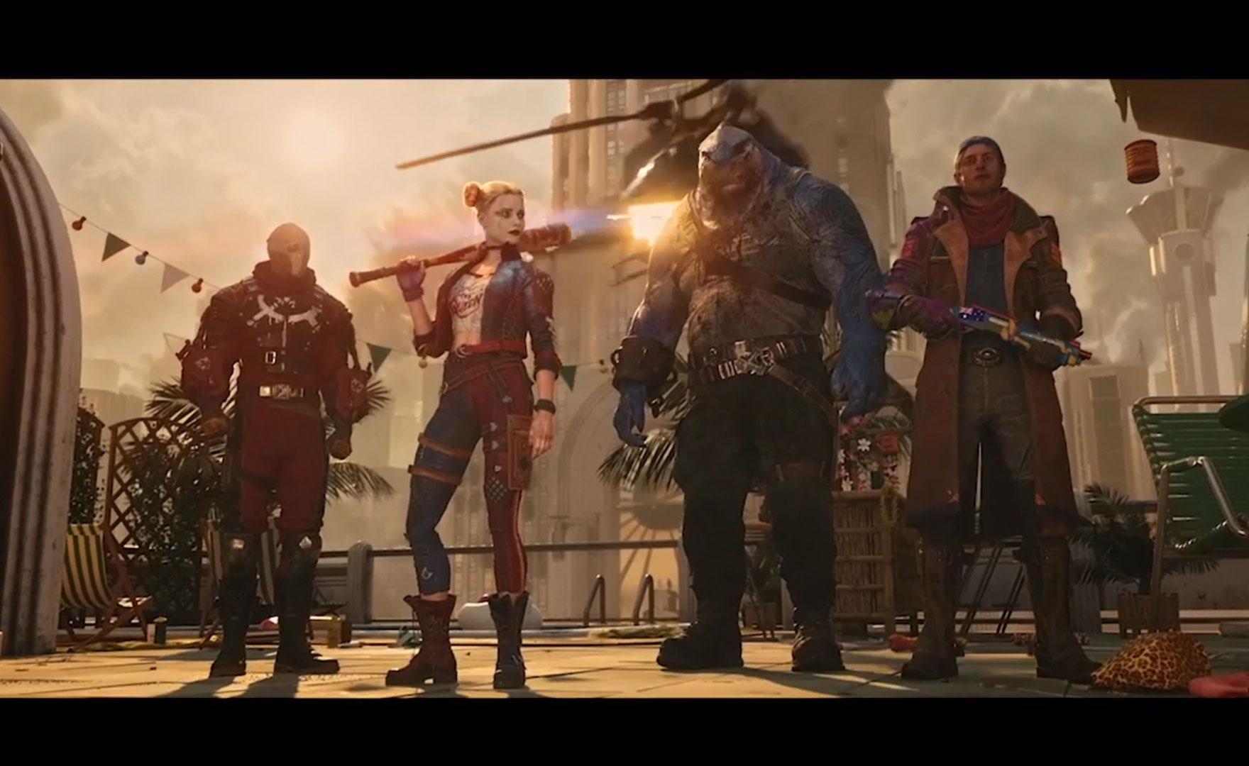 Suicide Squad Kill the Justice League: data, trailer e gameplay