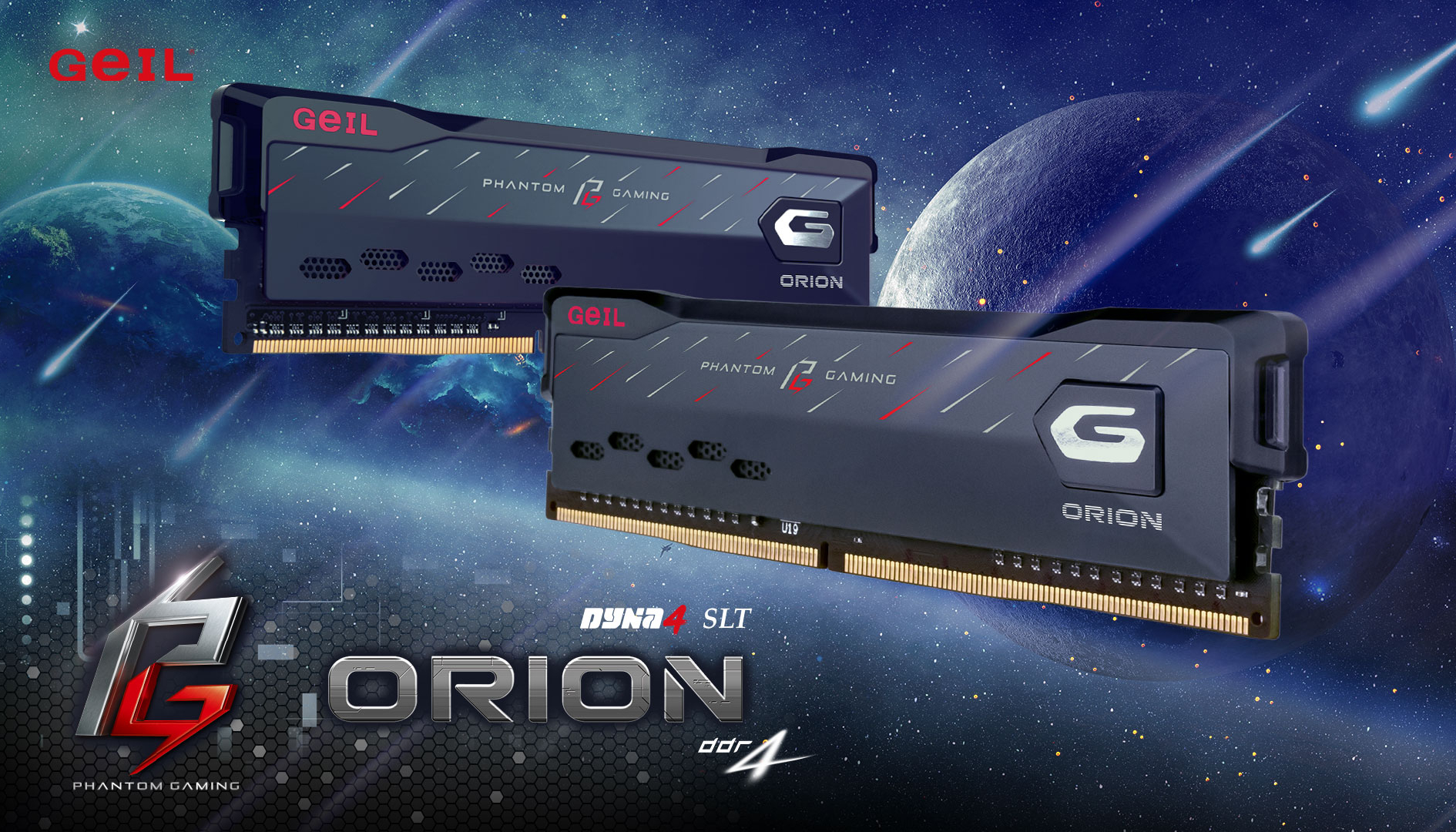 GeIL e ASRock insieme per le nuove memorie Orion Phantom Gaming Edition
