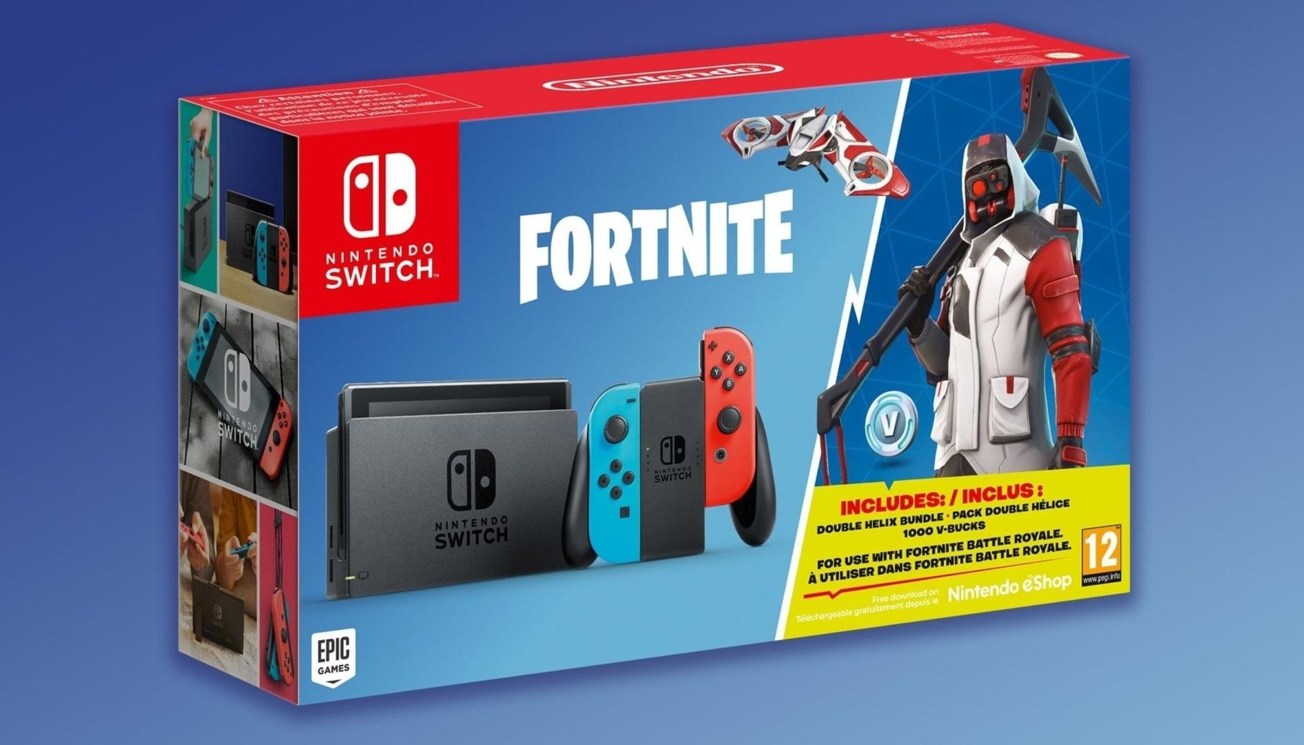 Fortnite: annunciato il bundle con Nintendo Switch a tema