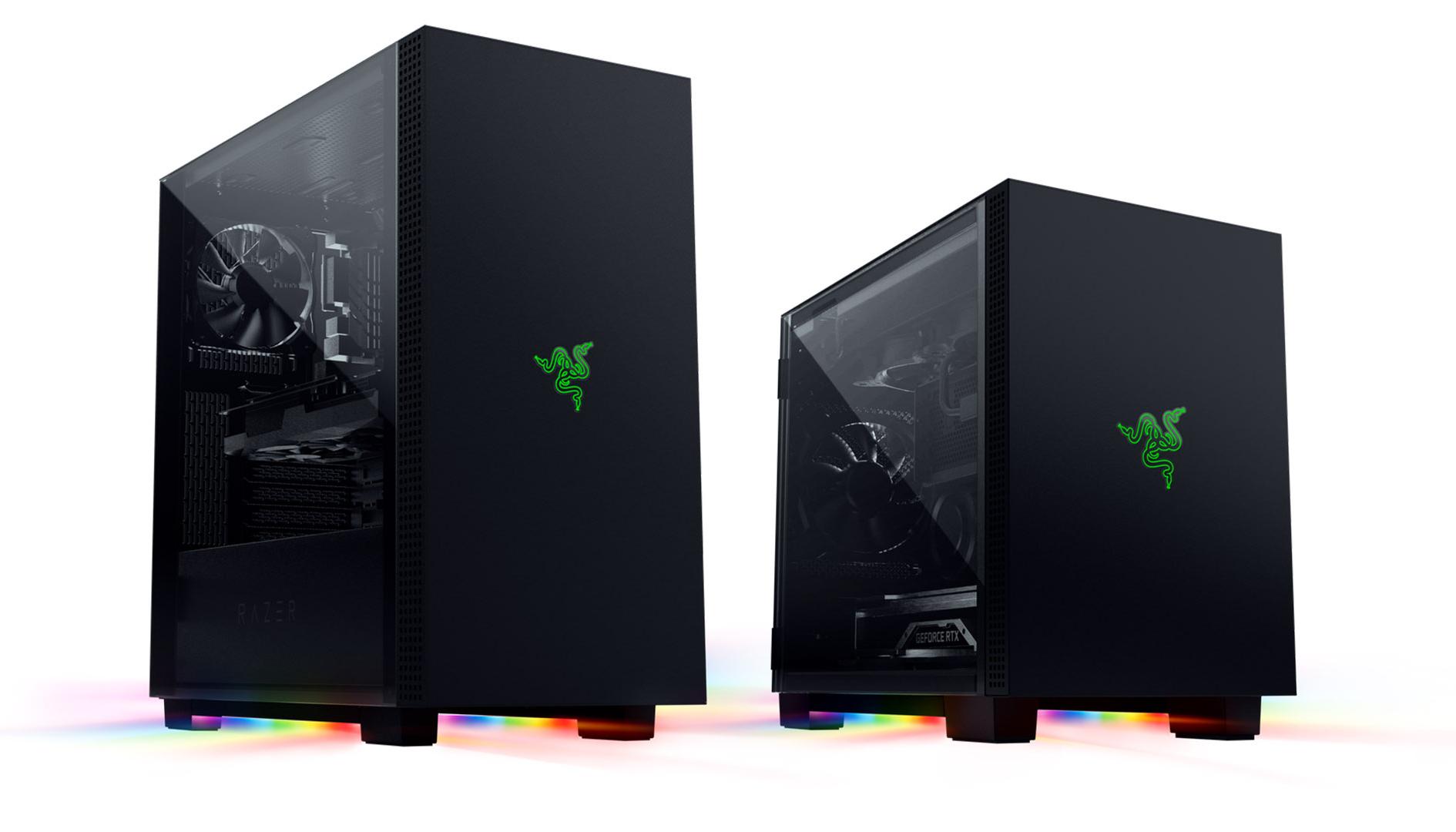 Razer Tomahawk, ufficiali i case ATX e Mini-ITX con RGB Chroma