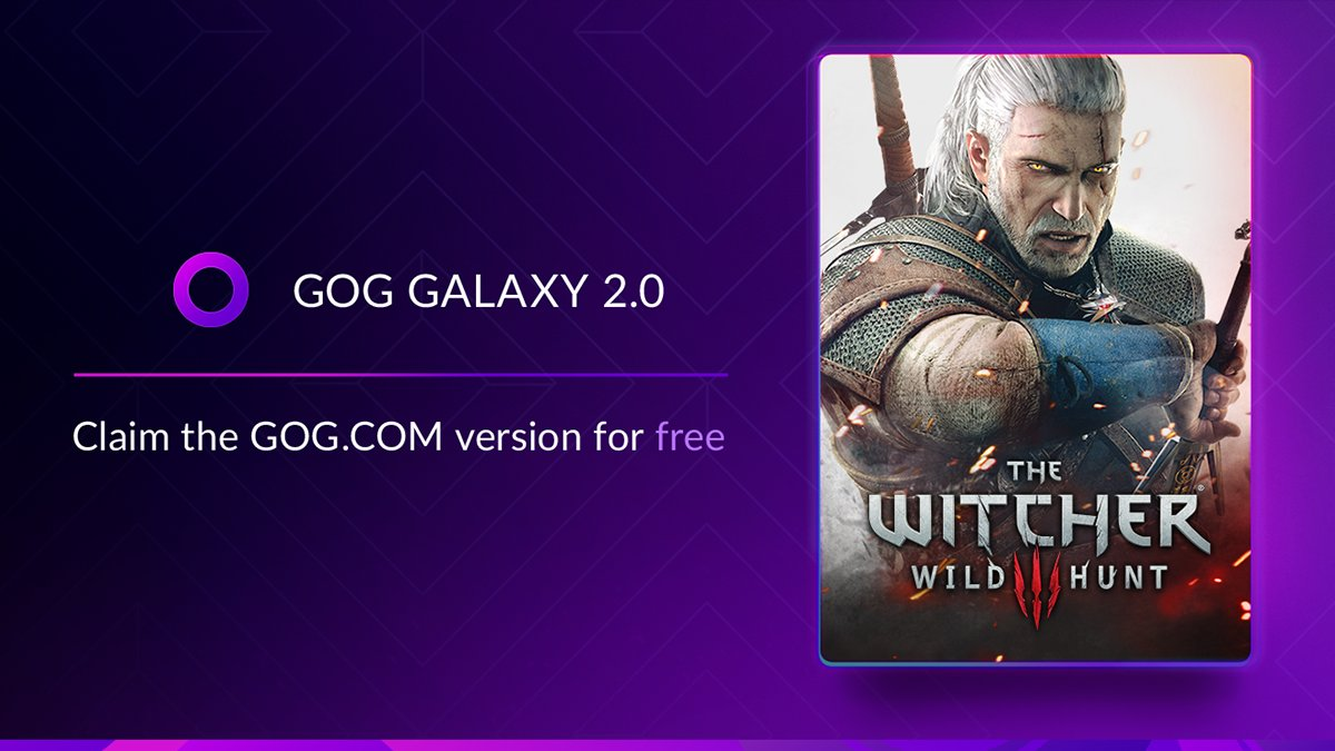 GOG Galaxy regala un titolo di The Witcher